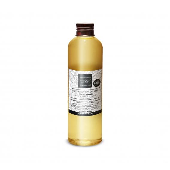 PRIODY | Multi aktives antioxidatives Mizellenwasser mit Hyaluronsäure, Pflanzen- und Fruchtextrakte