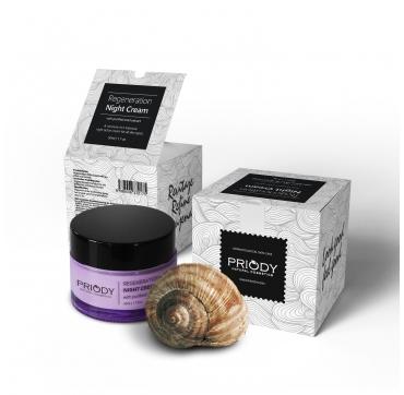 PRIODY | Regenerierende Nachtcreme mit gefiltertem Schnecken-Extrakt