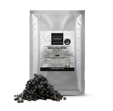 PRIODY - Revitalisierende Lifting-Gesichtsmaske mit Hyaluronsäure, Kollagen, Kaviar, grünem Tee-Extrakt und Gurken-Extrakt (5st)